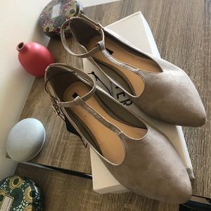 Forever 21 - Grey/Creme Shoes